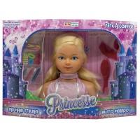 Busto Peinados Muñeca Princesa