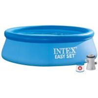 Piscina Intex 244* 76 Cm Con Depuradora