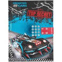 Monster Cars Diario Top Secret