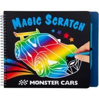 Monster Cars Magic Scratch