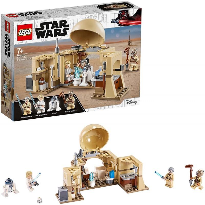 Lego Star Wars Cabaña de Obi Wan