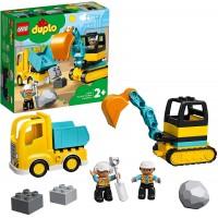 Lego Duplo Camion y Excavadora con Orugas