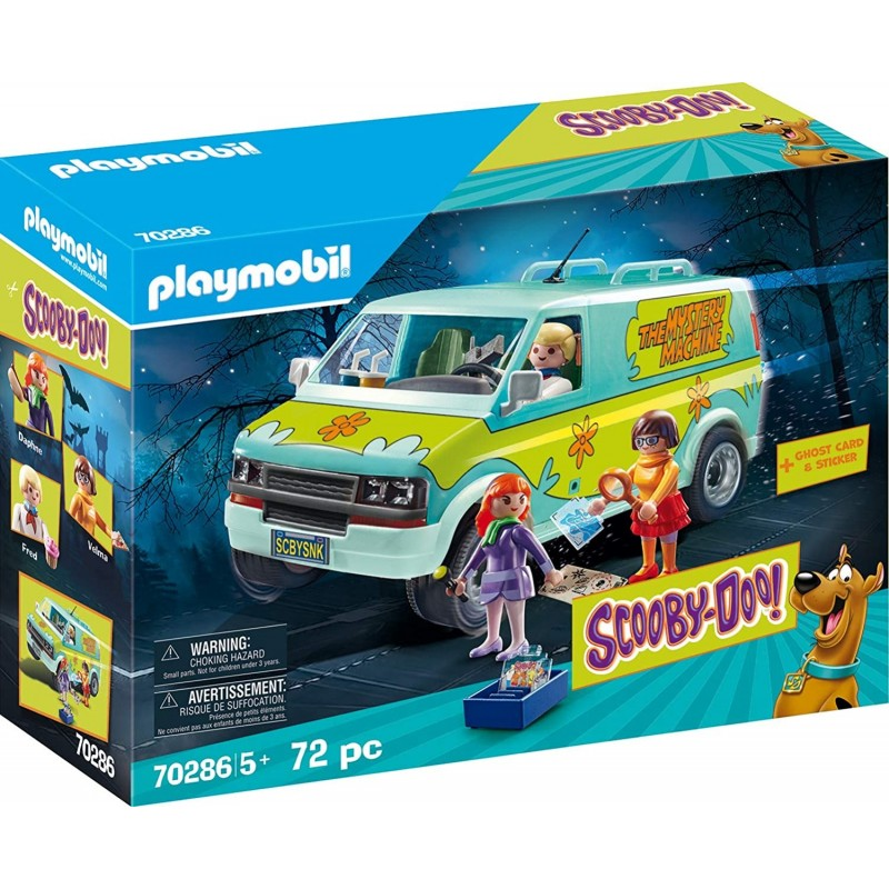 Playmobil Scooby-Doo La Máquina del Misterio