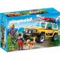 Playmobil Vehiculo Rescate De Montaña