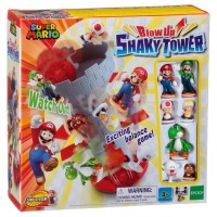 Super Mario Juego Torre Temblorosa