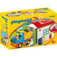 Playmobil 1.2.3 Camión Garaje