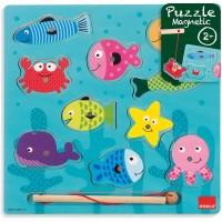 Puzzle Pesca Magnético