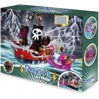 Pinypon Action Barco Pirata Ataque al Kraken