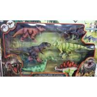 Caja 6 Dinosaurios Con Sonido
