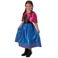 Disfraz Anna Frozen Con Capita