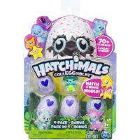 Hatchimals Pack de 4 figuras coleccionable