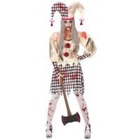 Disfraz Arlequín Sangriento Mujer