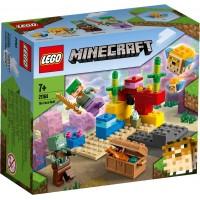 Lego Minecraft El Arrecife De Coral