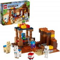 Lego Minecraft Puesto Comercial