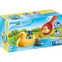 Playmobil 1,2,3 Familia De Patos