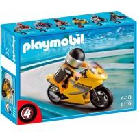 Playmobil Moto De Carreras