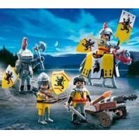Playmobil Tropa Caballeros Del Leon