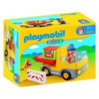 Camión de Construcción 1,2,3 de Playmobil