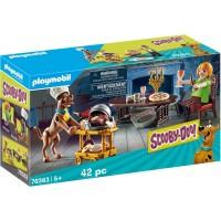Playmobil Cena Con Scooby Doo