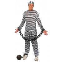 Disfraz Presidiario Adulto