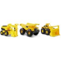 Pack De 3 Camiones Mini Dump