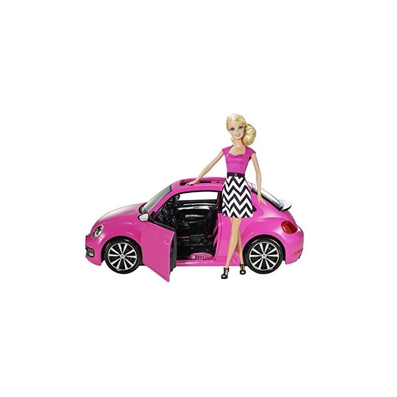 Barbie Volkswagen Con Barbie