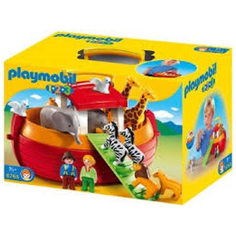 Playmobil 1,2,3 Arca de Noe Maletín