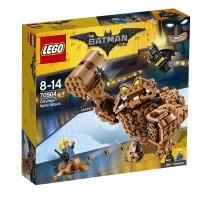 ATAQUE CENAGOSO DE CLAYFACE DE LEGO SUPERHEROES