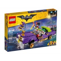 COCHE MODIFICADO THE JOKER DE LEGO SUPERHEROES