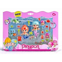 PINYPON SET SIRENITAS