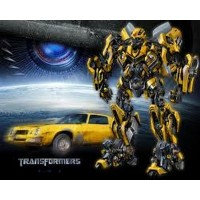 Coche Bumblebee R/C Transformers