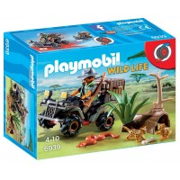 Explorador Furtivo Con Quad de Playmobil