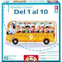 APRENDO A CONTAR DEL 1 AL 10 DE EDUCA