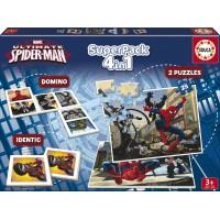 SPIDERMAN SUPER PACK 4 EN 1 DE EDUCA