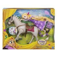 Princesa Rapunzel y Su Caballo Maximus