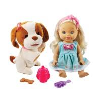 Amelia y Su Perrito