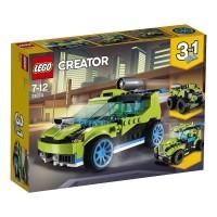 Coche Rally A Reaccion De Lego Creator