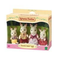 Familia de Conejos Sylvanian