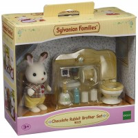 Set Hermano Conejo Chocolate Sylvanian