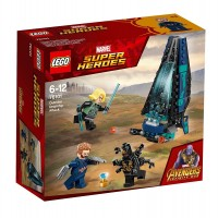 Lego Superhéroes Ataque de la Nave De Los Outriders