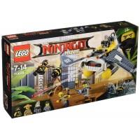 Bombardero Mantarraya De Lego Ninjago