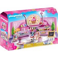 Cafeteria Cupcake Centro Comercial De Playmobil