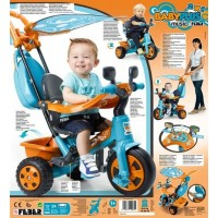 Triciclo Baby Plus Music Azul