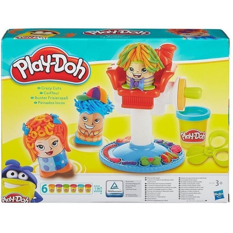 Peinados Locos de Play Doh