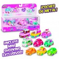 Shopkins Set 3 Coches Cuttie
