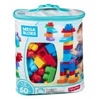 Mega Blocks Bolsa 60 Piezas Azul
