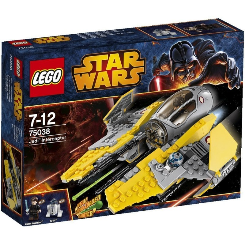 Star Wars Jedi Interceptor de Lego