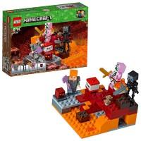 Lego Minecraft Combate en El Infierno