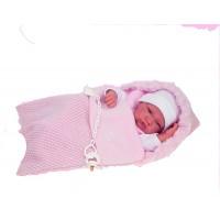 Bebé Recien Nacida C/Saco Rosa